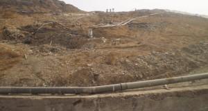 Incendio discarica di Bellolampo - CAVI SCOPERTI 2 - 6/8/2012 - PH M.G.