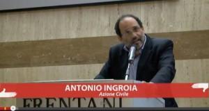 Intervento Ingroia - Azione Civile Roma